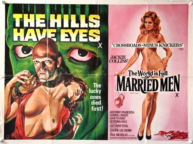 The Hills Have Eyes & The World is full of Married Men Double Bill  Quad