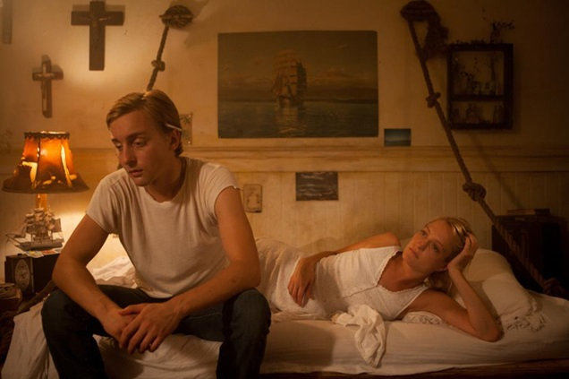 Patrick (Evan Louison) and Pernilla (Remy Bennett) are 'like brother and sister' in Buttercup Bill