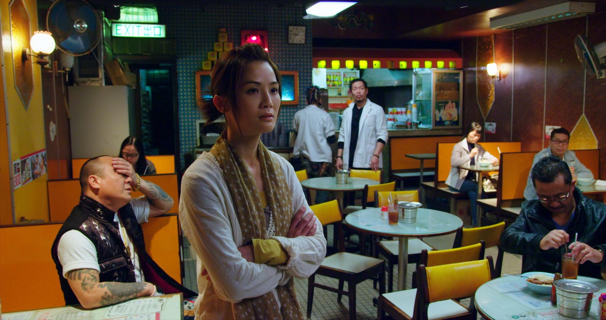 Mei's tea house, where aging gangster make a new start