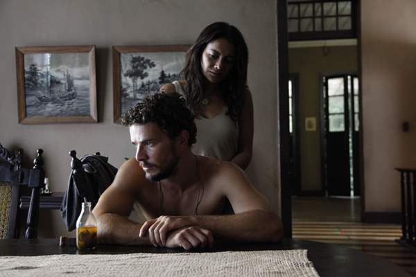 Daniel de Oliveira and Dira Paes form the central conflicted relationship of The Orphans of Eldorado