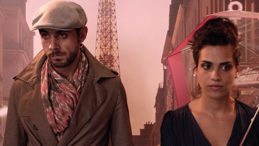 Wissam Fares and Alexandra Kahwagi star in the film within the film