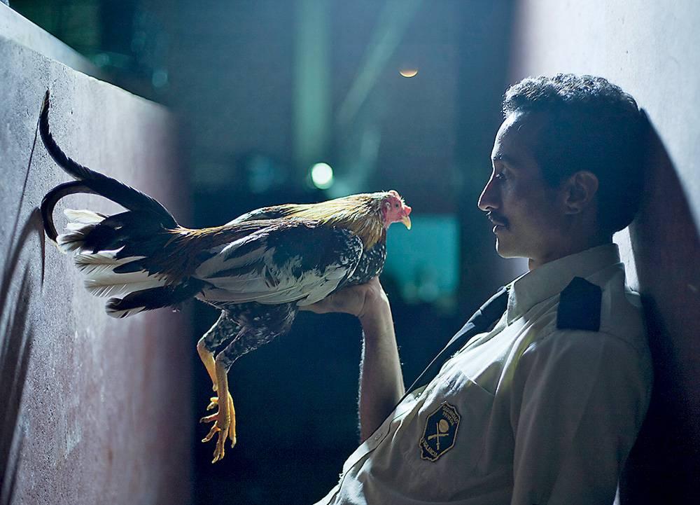 Chalo (Allan Cascante) with trusty bird Rocky
