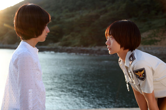 Sae-ron Kim and Doona Bae star in A Girl at My Door
