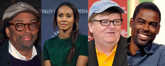 Spike Lee, Jada Pinkett Smith, Michael Moore, and Chris Rock are among the figures who have spoken out against the Academy's lack of diversity