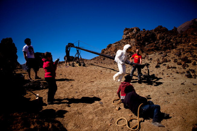 """We shot the film on the Canary Islands. It was the best option for finding such stunning locations."""