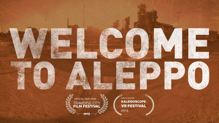 Welcome to Aleppo uses VR technology to bring audiences into the lives and struggles of refugees.