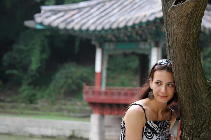 Director Yulia Ruditskaya in Seoul