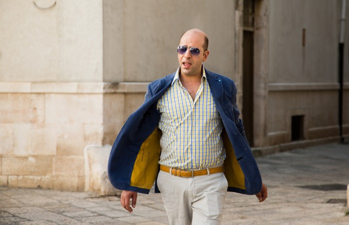 Checco Zalone, star of new Italian comedy Quo Vado?