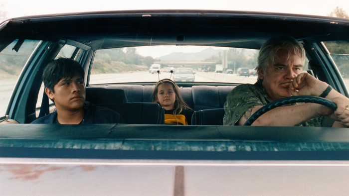 Johnny Ortiz, Veronica Ruthie Sigel and Michael Harney in Soy Nero