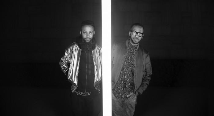 Director Lebogang Rasethaba (left) with artist Spoek Mathambo (right) PHOTO: Justice Mukheli