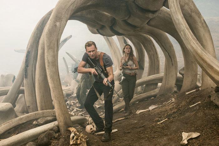 Tom Hiddleston and Brie Larson go monster hunting in 'Kong: Skull Island' (dir. Jordan Vogt-Roberts)