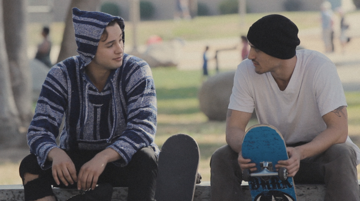 """""""I've always been intrigued at the camaraderie that exists in skate culture, which I think is innately queer."""""""