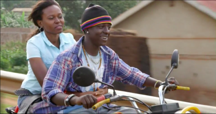 """""""The Ugandan film paints a world in which modern teenagers are often left alone to forge their own values."""""""