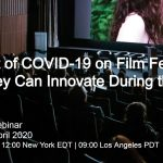 FILMDOO IS HOSTING A FREE WEBINAR ON THE IMPACT OF COVID-19 ON FILM FESTIVALS AND MARKETS